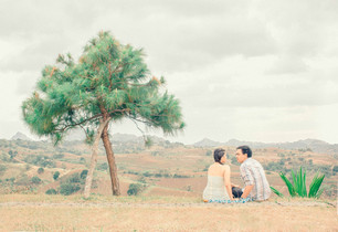 Mike & Trinah Tagaytay Prenuptial Photos