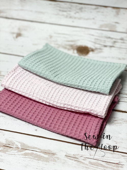 Luxury Re-Usable Waffle Face Wash Cloths