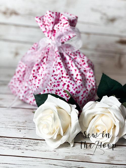 Reusable Heart Cotton Mother's Day Gift Bag
