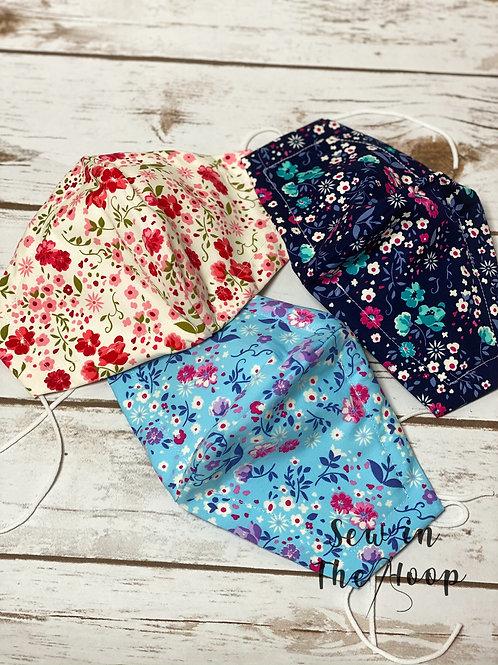 Floral Collection Face Masks