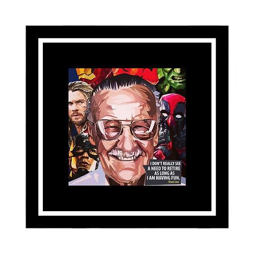 Stan Lee The Legend Frame