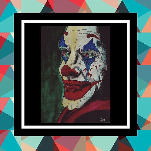Joker Handmade Painting Frame