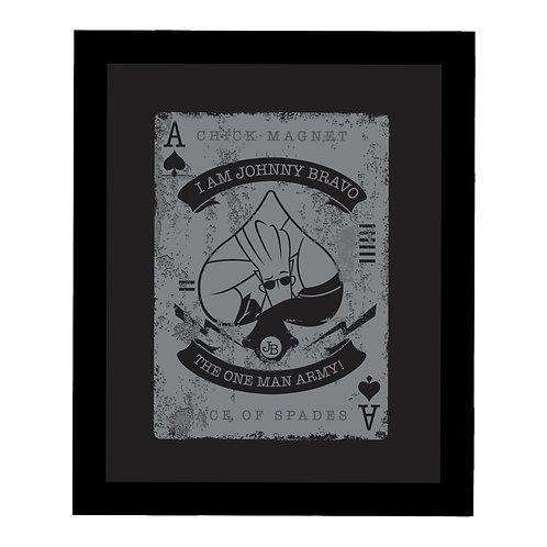 Johnny Bravo Card Frame