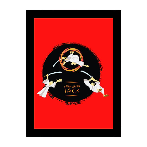 Samurai Jack Red Sword Frame