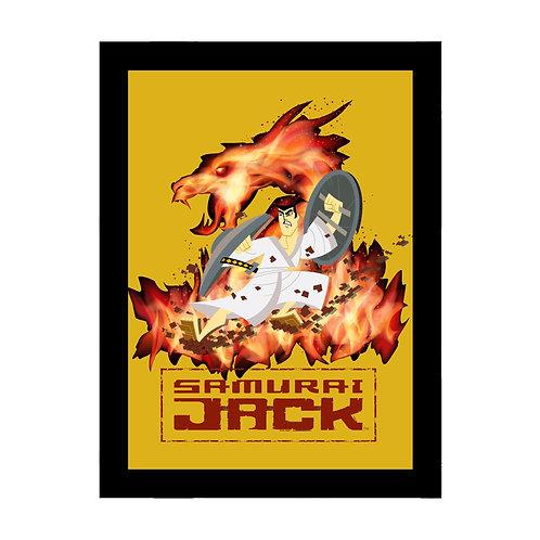 Samurai Jack Fire Frame