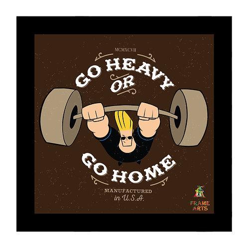 Johnny Bravo Go Heavy  Or Go Home