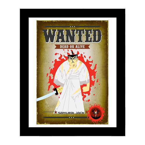 Samurai Jack Wanted Frame