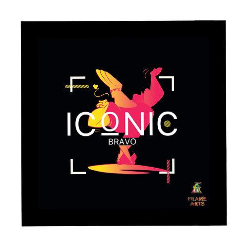 Johnny Bravo Iconic Frame