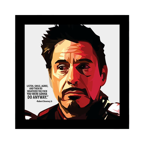 Robert Downey Jr Photo Frame