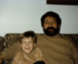 Tim an his Father