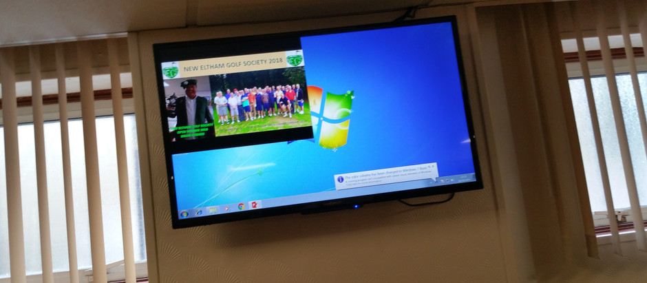 Advert Screens for New Eltham Social Club