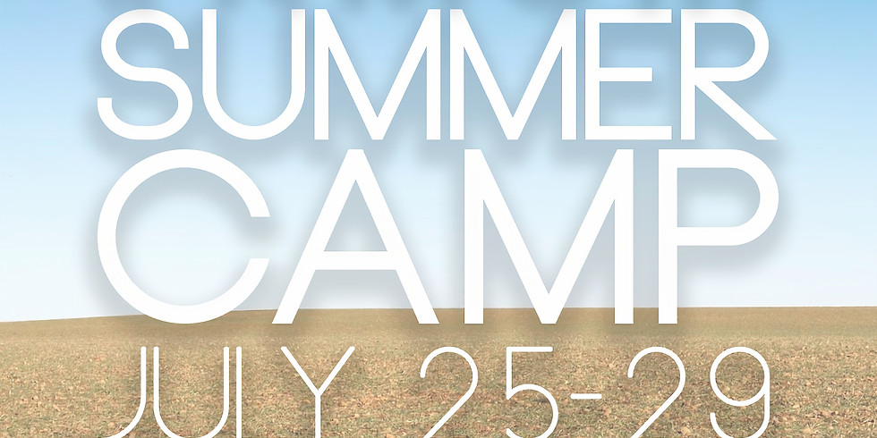 SUMMER CAMP- STUDENT MINISTRY
