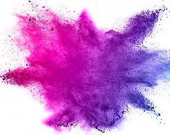 blue-pink-powder-explosion-white-backgro