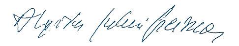 Assinatura Algirdas Julien Greimas