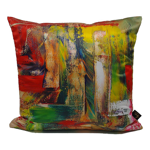 """JUNGLE"" CUSHION (POLY SATIN)"