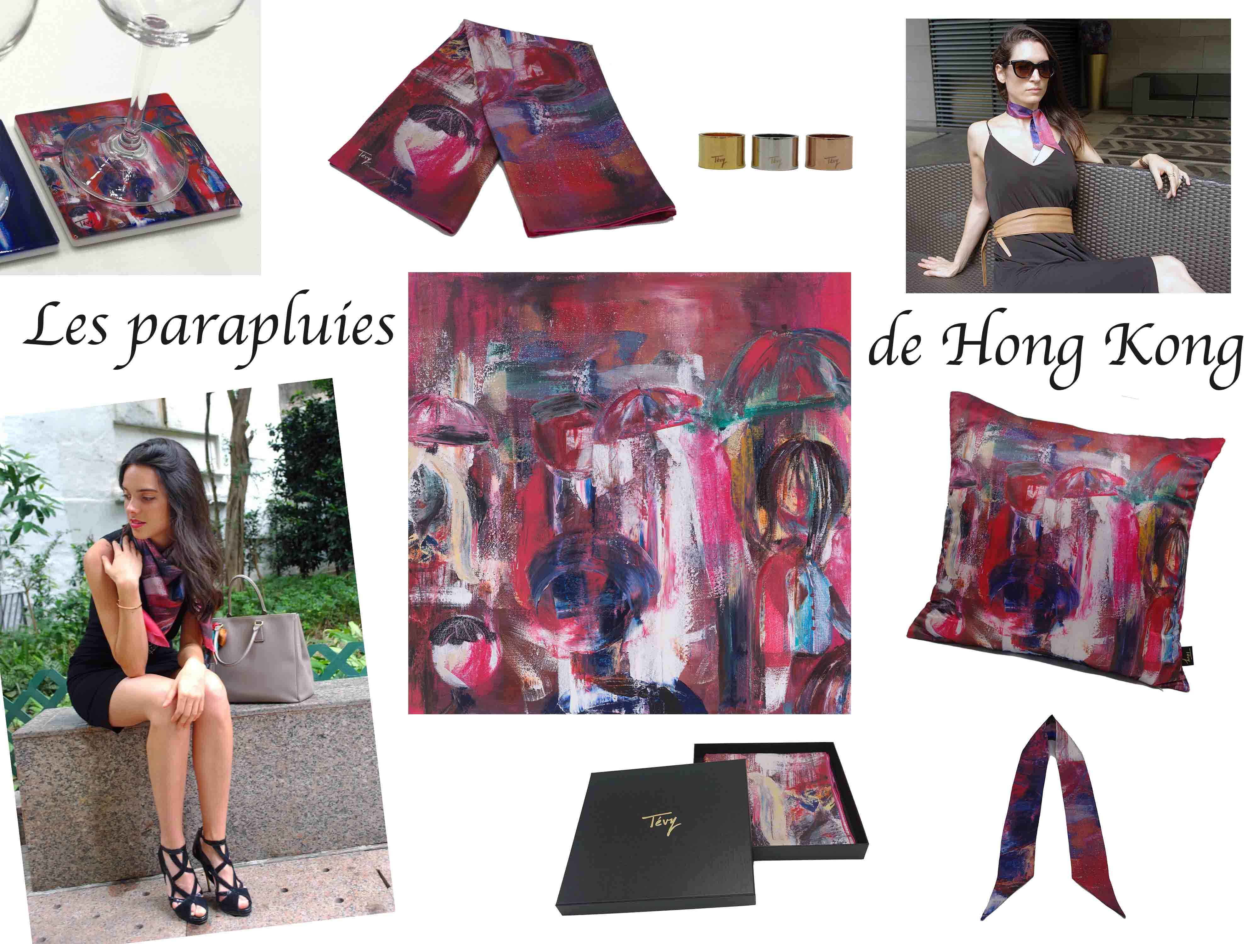 """Les parapluies de HK"" collection"