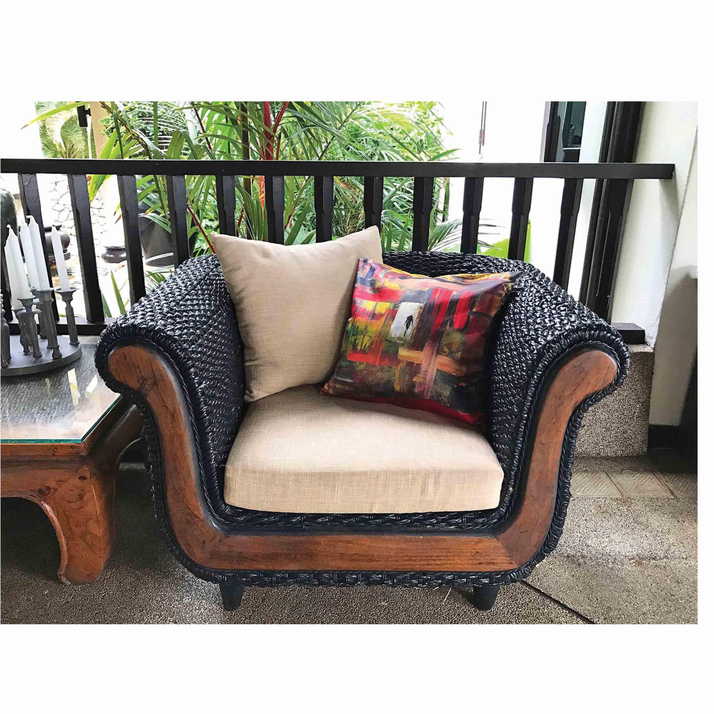 angkor cushion chair square