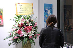 Tevy's first exhibition & collection