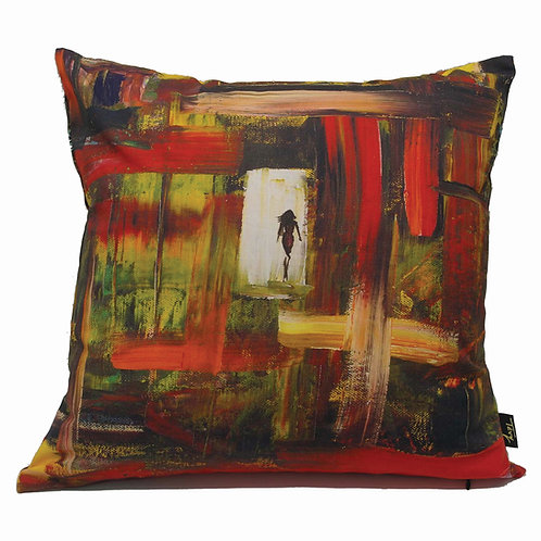 """ANGKOR"" CUSHION (COTTON CANVAS)"