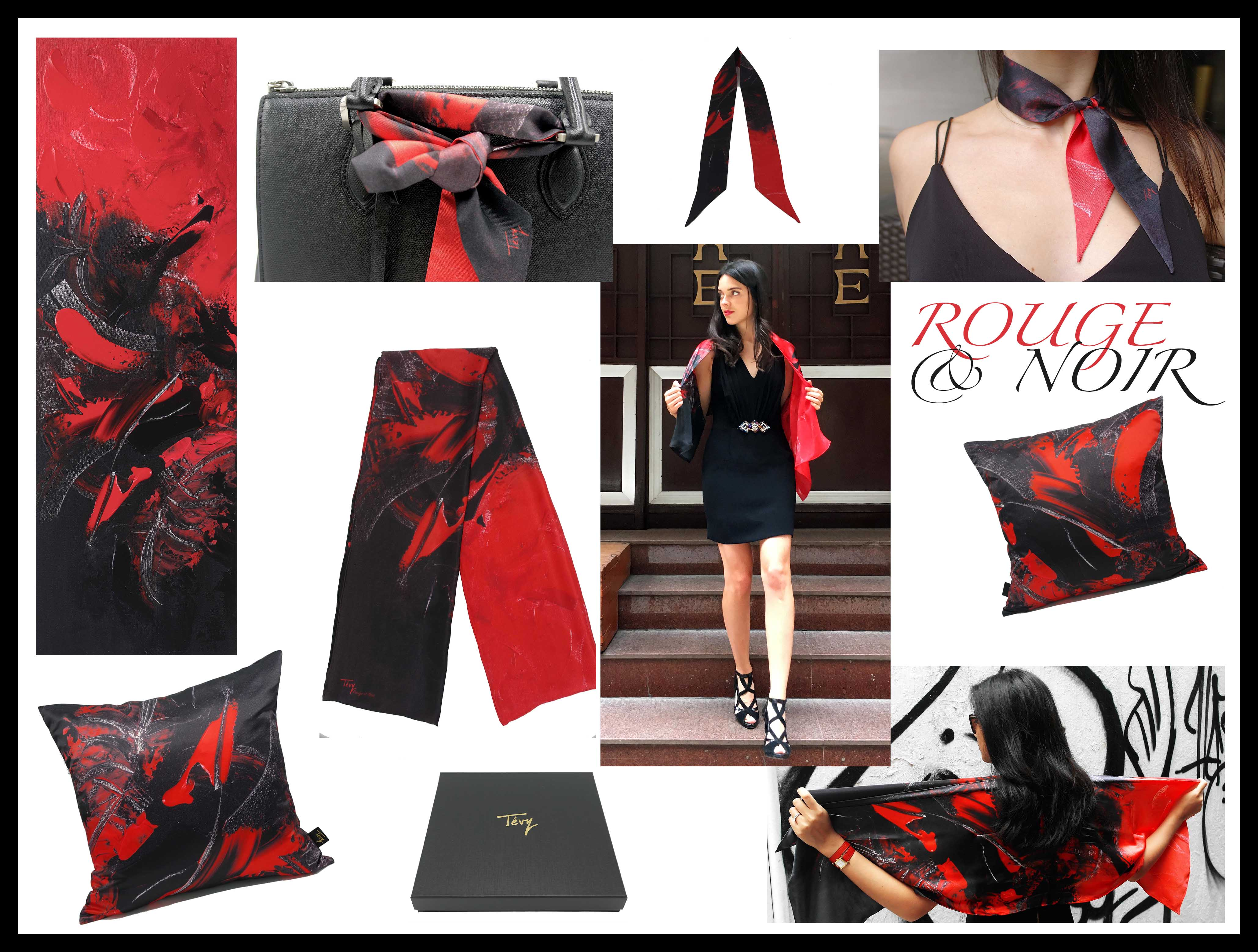 """Rouge et Noir"" collection"