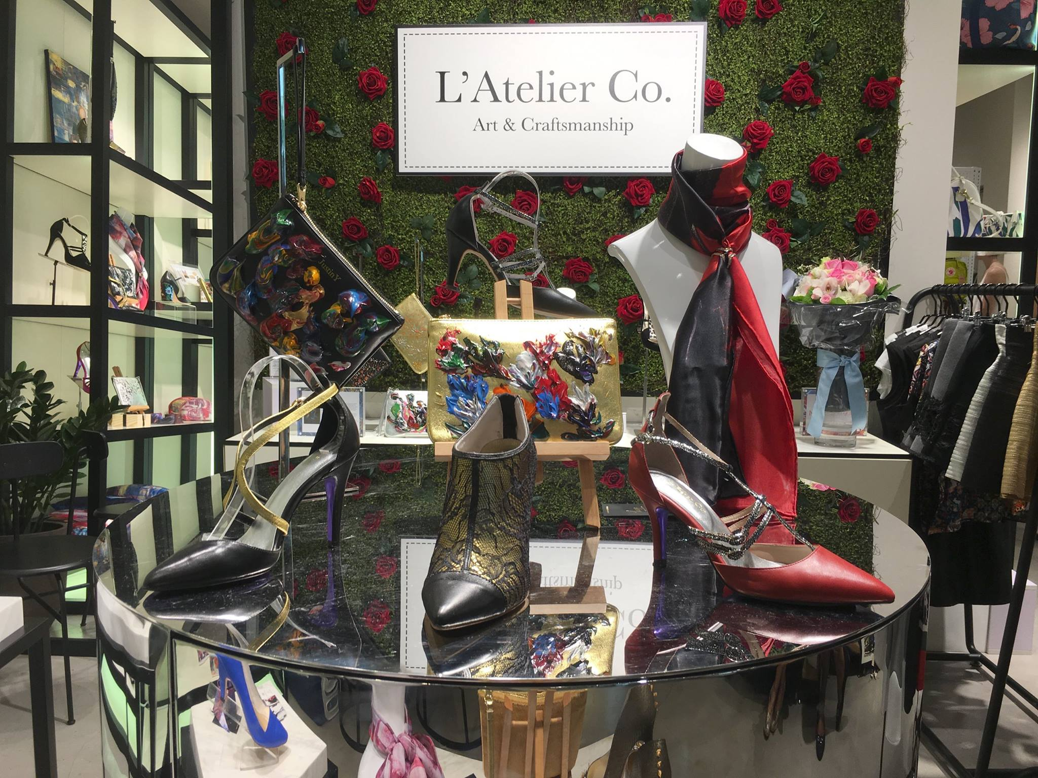L'Atelier Co pop-up corner