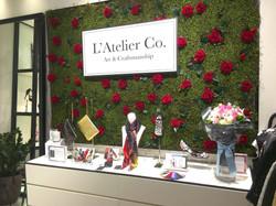 L'Atelier Co pop-up corner