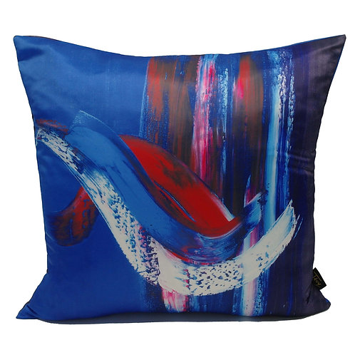 """AZUR"" CUSHION (POLY SATIN)"