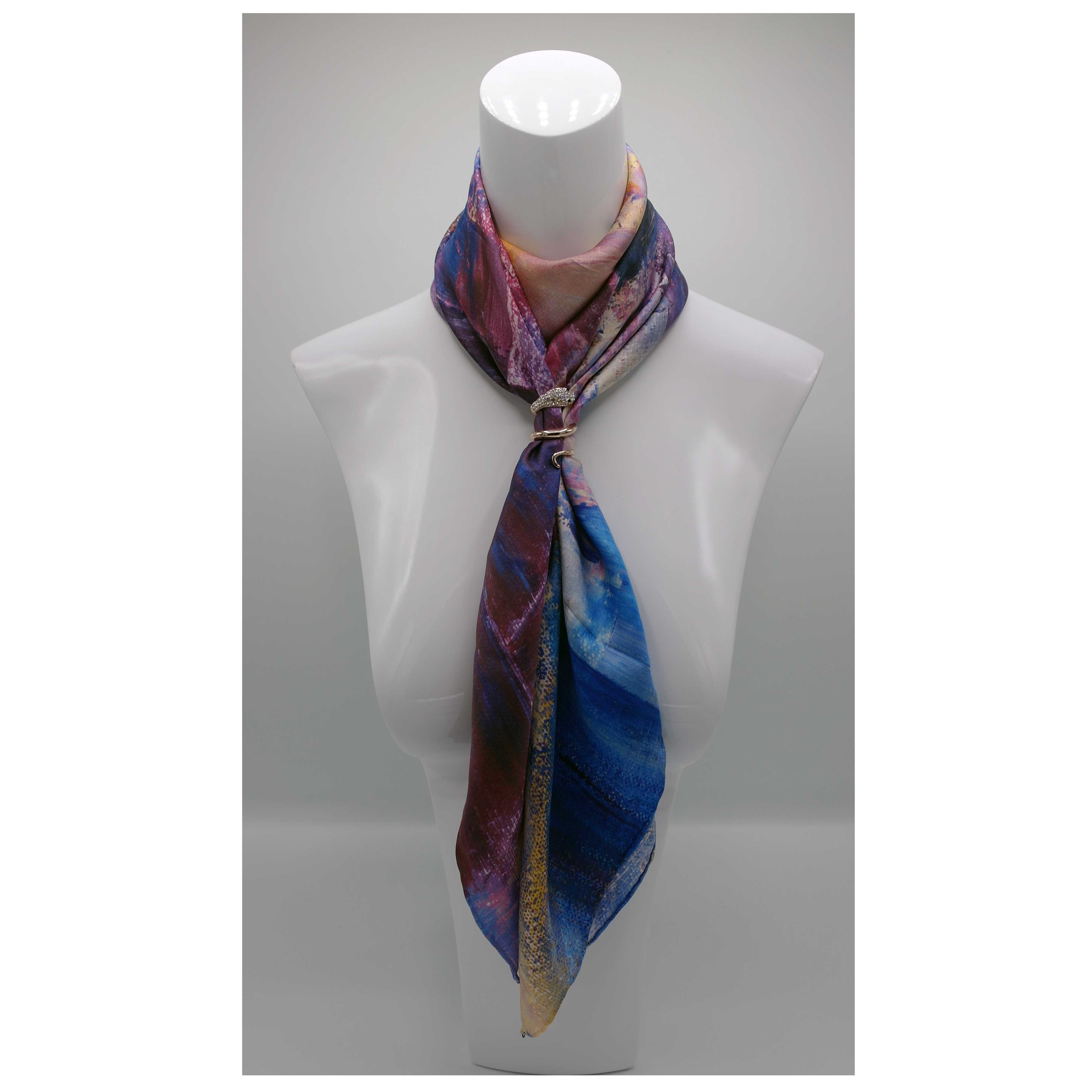 La Promesse silk scarf