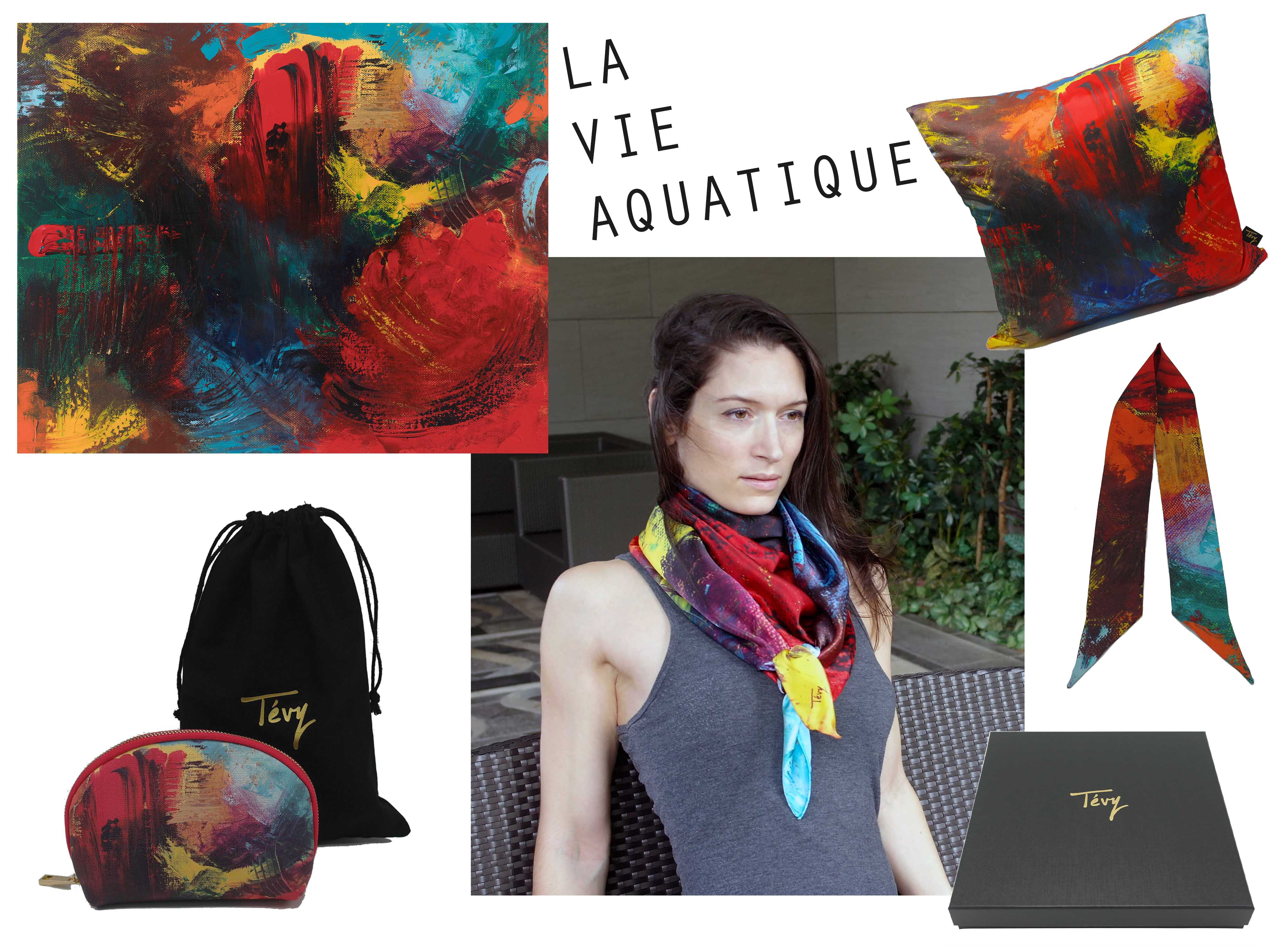 """La vie aquatique"" collection"