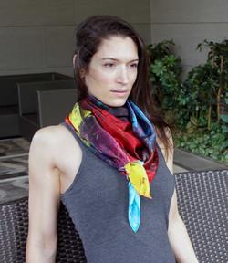 La vie aquatique scarf