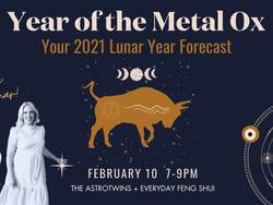 Free Webinar! Year of the Metal Ox