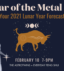 Free Webinar! Year of the Metal Ox