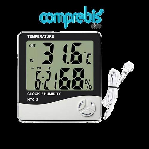 Higrômetro - medidor de temperatura e umidade