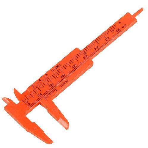 Mini Paquímetro para medição de sobrancelhas