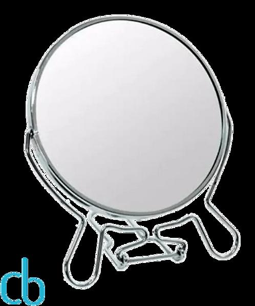Espelho metálico pequeno