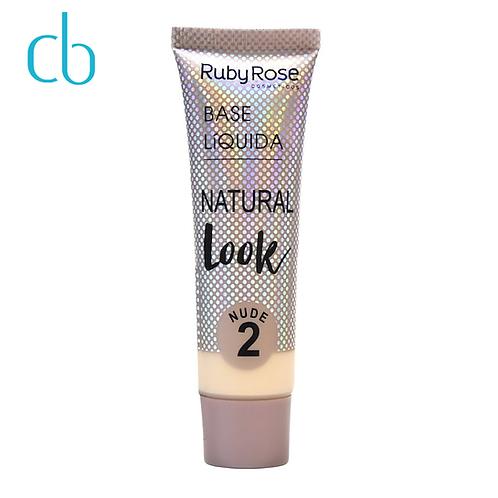 Base Líquida Natural Look Nude 2 e 3