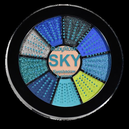 Mini Paleta De Sombras Sky