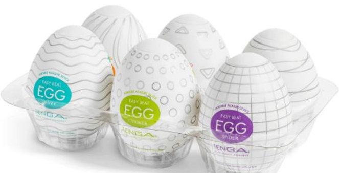 Masturbador Unissex Egg (Unidade)