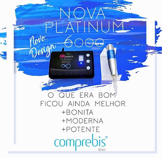 Dermógrafo GR Colors Nova Platinum 6000