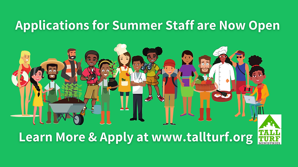 Applications for Summer Staff are Now Op