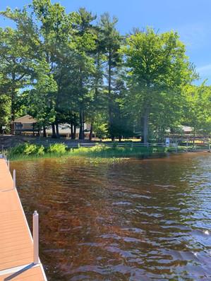 Lake View of Camp