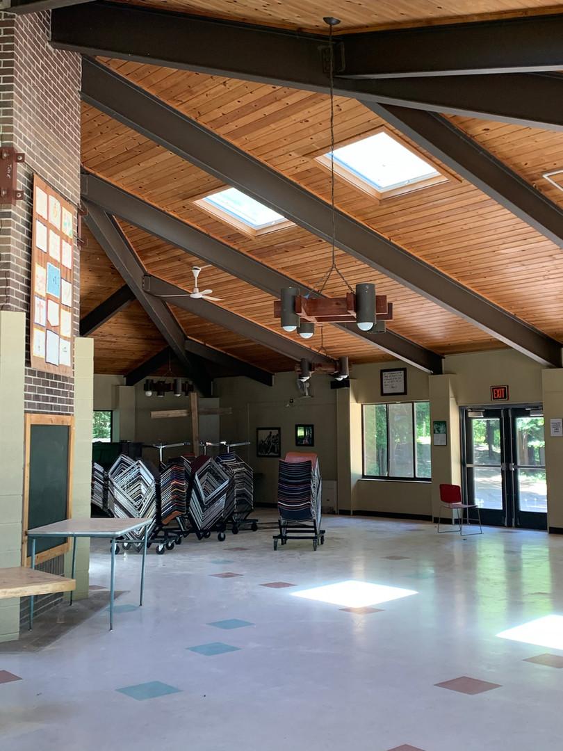 Inside Dining Hall