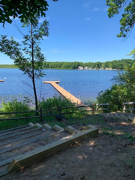 Lake at Camp Tall Turf