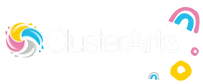 Cluster Logo White with elements  .png
