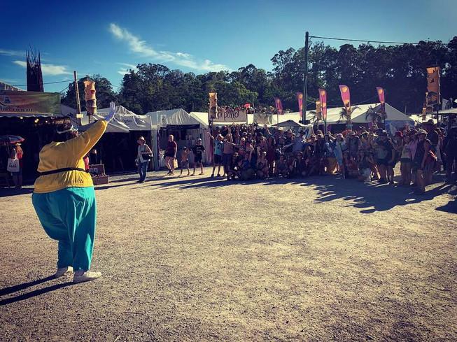 THE TOURISTS - WOODFORD FOLK FESTIVAL