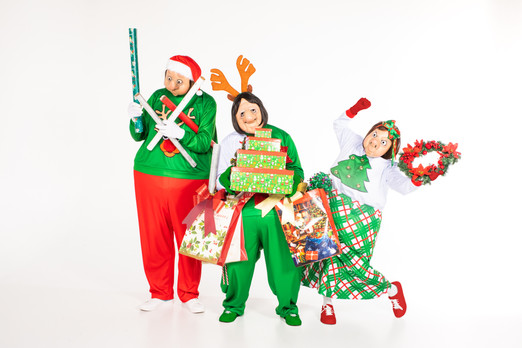 THE MASK FAMILY - CHRISTMAS SPECIAL