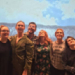 ArkansasStaged cast and crew of GROUNDED by George Brandt