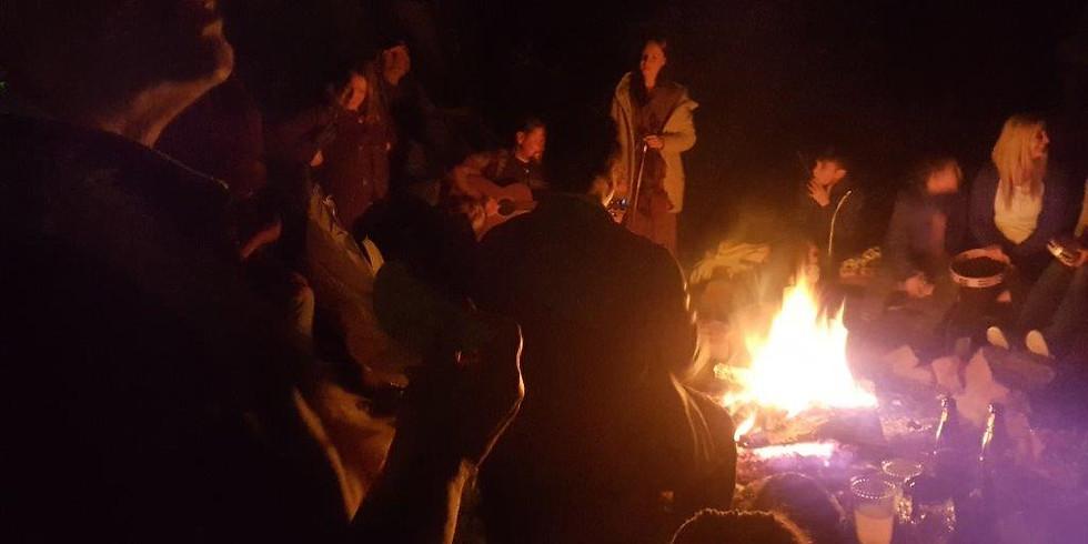 WIR Festival: singen, tanzen jonglieren, Feuer spielen, Lagerfeuer,....