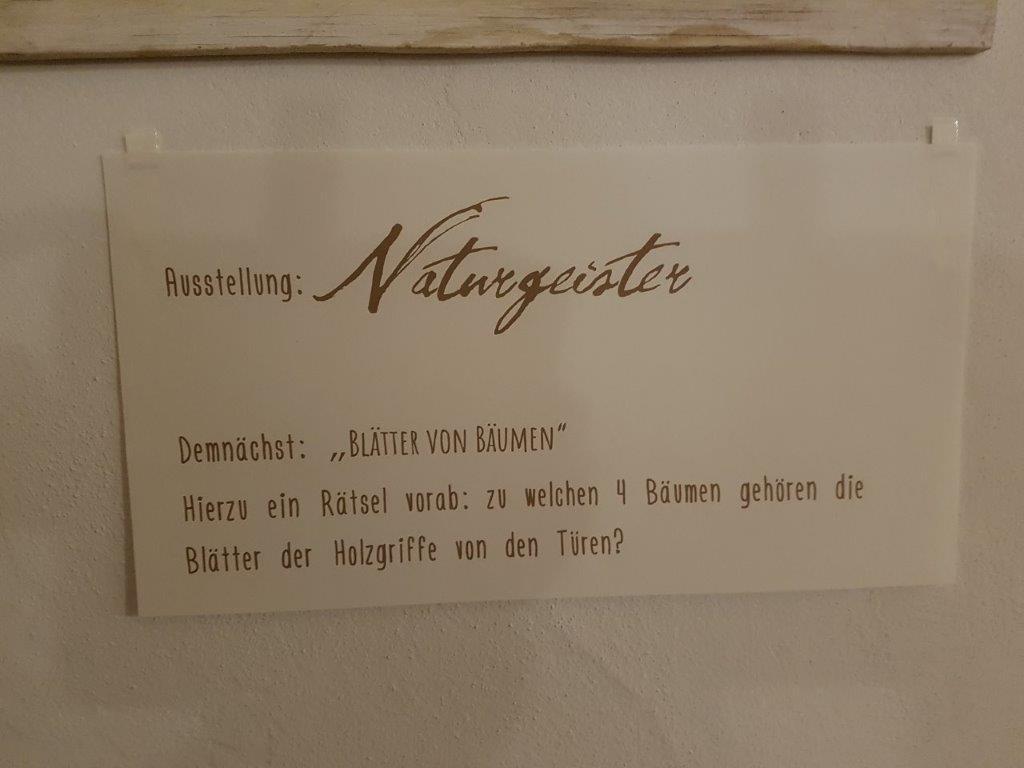 Ausstellung Naturgeister