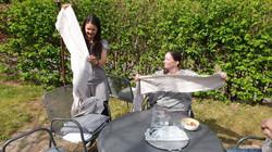 kreative Frauen bei der sOnnenarbeit